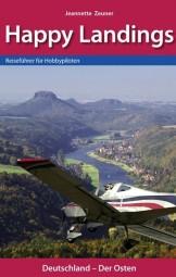 Happy Landing Buchsatz & Cover