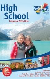 High School Katalogsatz & Cover